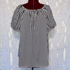 Chico's NWT striped short sleeve top size 3 / XL